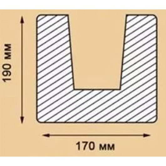Балка Модерн ED 104 (2м) светлая
