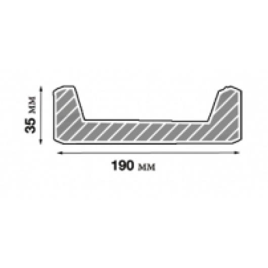 Доска Модерн ET 405 (3м) белая