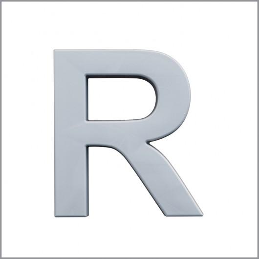 Буква R