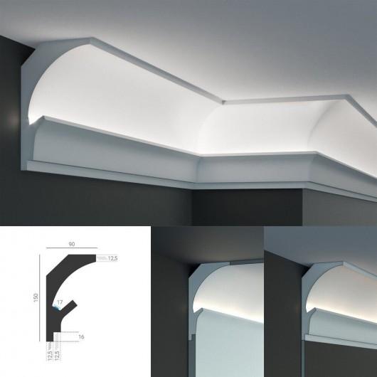 LED профиль KD205