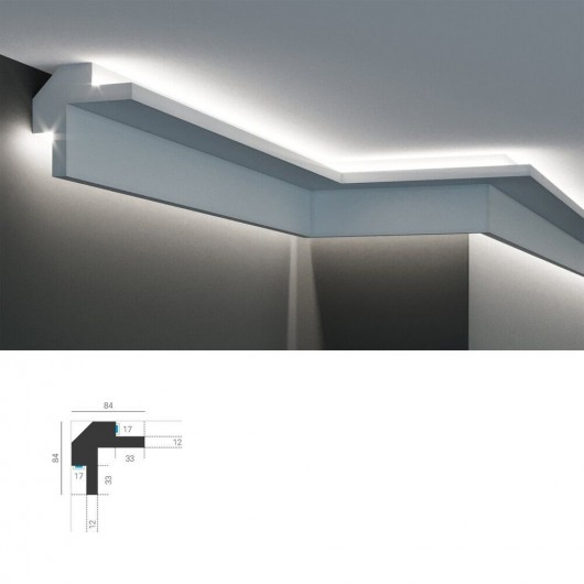 LED профиль KD503